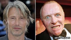 Mads Mikkelsen and Sir Anthony Hopkins