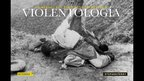 Cover of Violentology: A Manual of the Colombian conflict, showing a victim of violence, circa 1953. Unknown photographer
