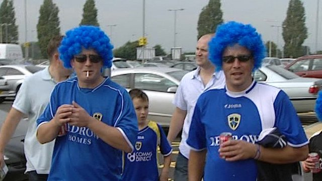 Cardiff City FC fans