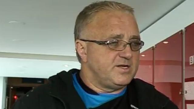 Cardiff City fan Gwyn Davies