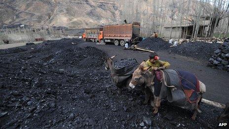 Afghan mine