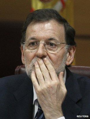 Spanish Prime Minister Rajoy