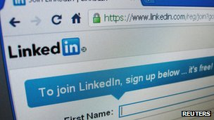 LinkedIn homepage