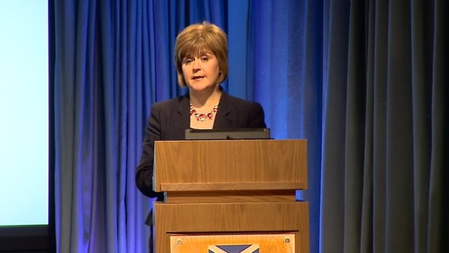Nicola Sturgeon, Scotland&#039;s health secretary