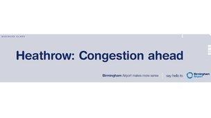 Birmingham Airport poster