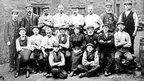 Employees outside Hartley's Glassworks, Sunderland. Photo: Beamish Museum