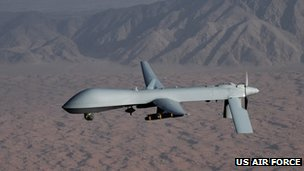 General Atomics MQ-1 Predator drone (file)