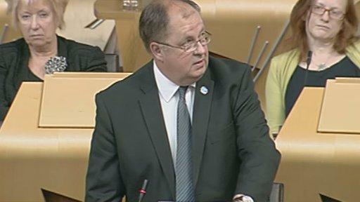 SNP MSP Colin Keir