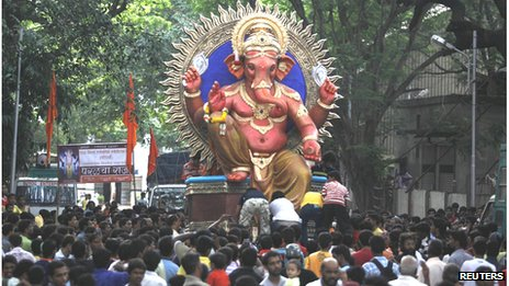 Ganesh Chaturthi in Mumbai