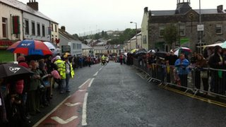 Crowds in Ballynahinch