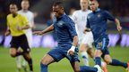 France and Manchester United's Patrice Evra