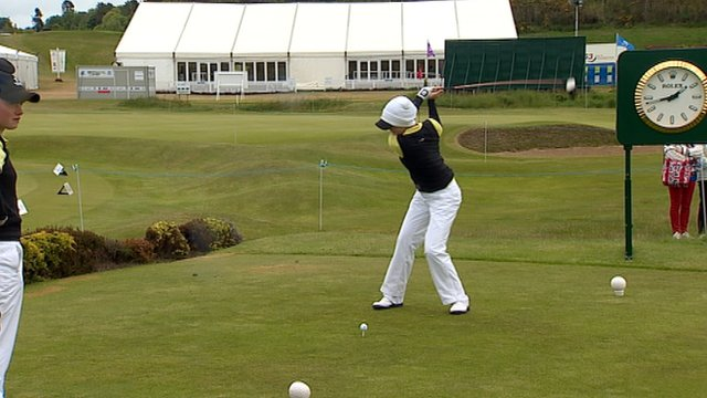 The Curtis Cup taking place in Nairn