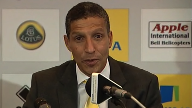 New Norwich manager Chris Hughton