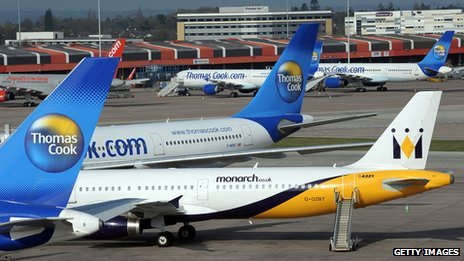 Image from Manchester Airport taken in April 2010