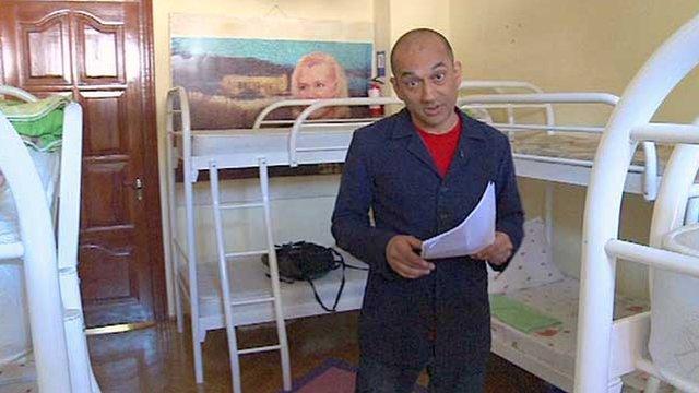 Rajan Datar in an $1,100 room