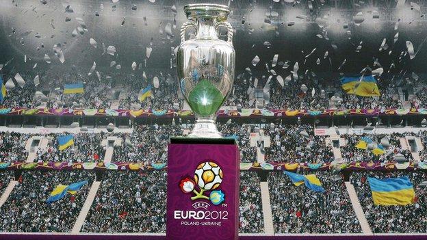 Euro 2012 trophy
