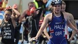 Great Britain's Lucy Hall