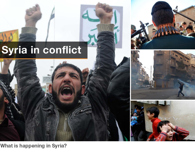 Images of Syrian uprising