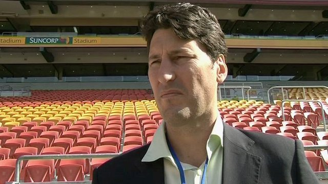 Wallaby great John Eales