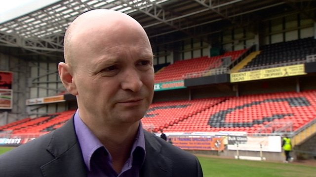 Dundee United chairman Stephen Thompson