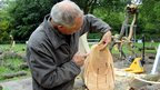 David Nash explains the age of oak tree
