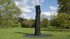 Flame Column (2012) by David Nash at Kew Gardens