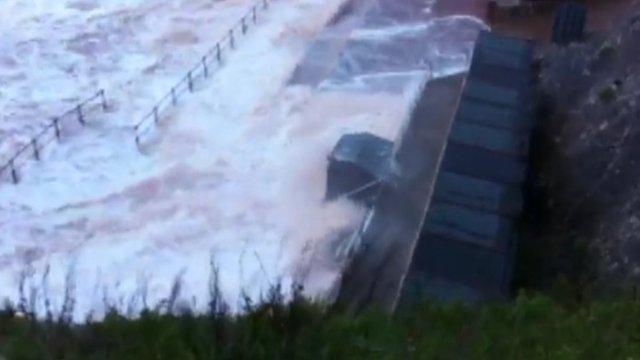 Storm in Devon