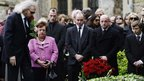 Robin Gibb's funeral service