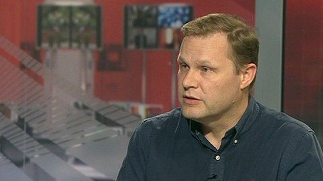 BBC correspondent Paul Wood