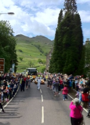 The torch in Tarbet