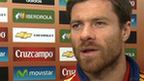 Spain's Xabi Alonso