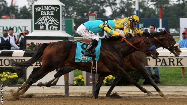 Union Rags triumphs in the Belmont Stakes