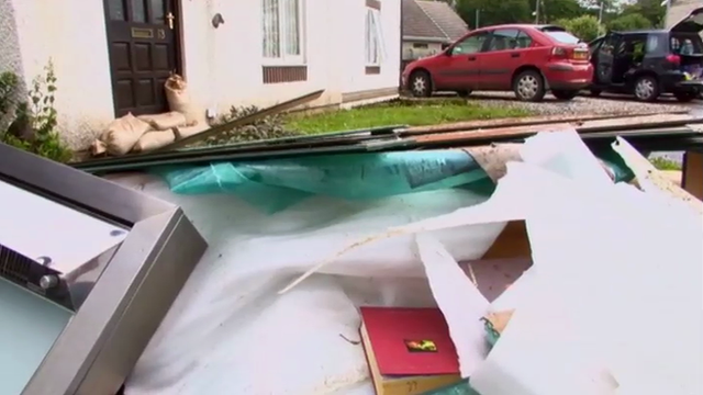 Wales flooding: Victims hope to return to homes