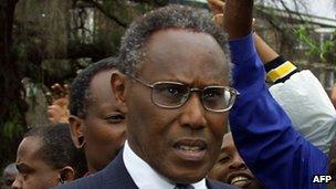 George Saitoti (file picture)