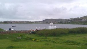 The scene in Shetland