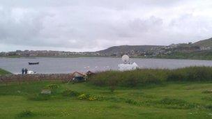 The scene in Shetland