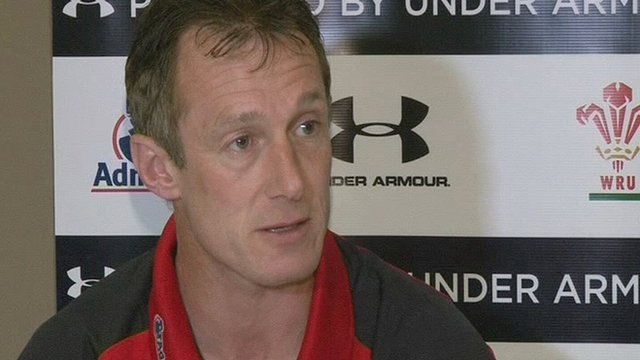 Wales caretaker coach Rob Howley