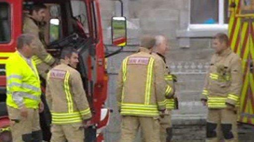 Fire service in Pennal