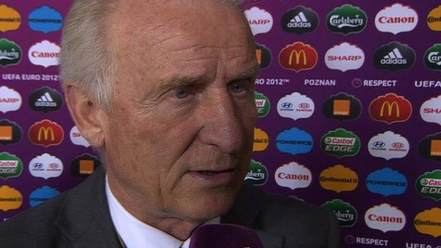 Ireland coach Giovanni Trapattoni