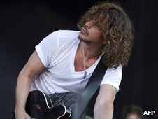 Chris Cornell from Soundgarden