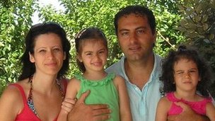 Emilia Angelillo and her family