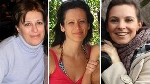 Marina Pashalaki, Emilia Angelillo, Daniela Moroz
