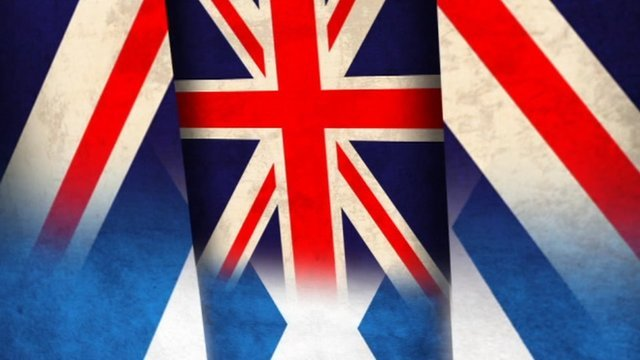 Flags from across the UK