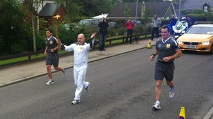 Torch in Carrbridge