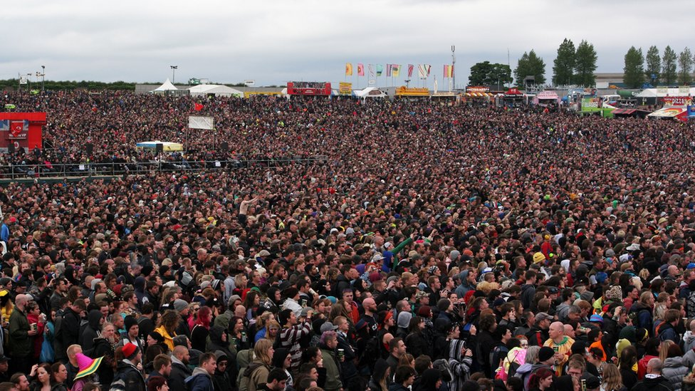 BBC News  In pictures: Download Festival 2012 at Donington Park