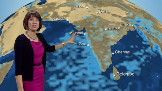 Latest monsoon update with Susan Powell