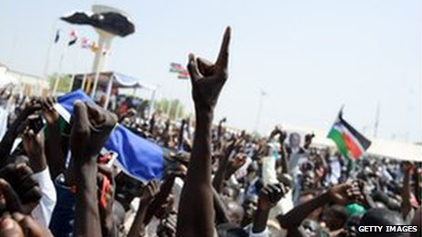 South Sudan post referendum celebrations