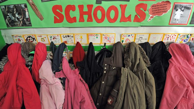 Primary school children&#039;s coats