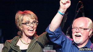 Gabrielle Giffords and Ron Barber