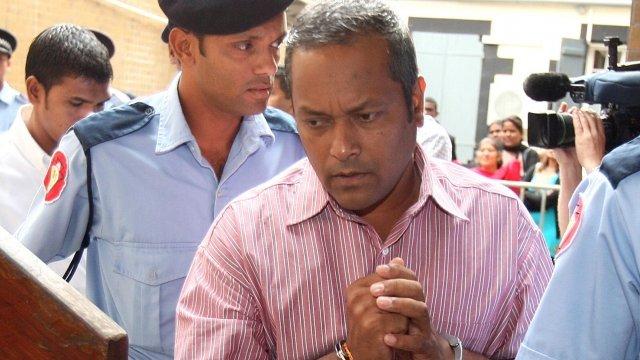 Sandip Moneea arrives at court
